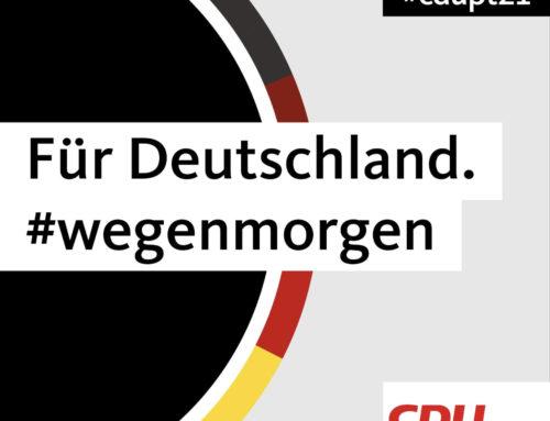 Digitaler CDU-Bundesparteitag 15./16. Januar
