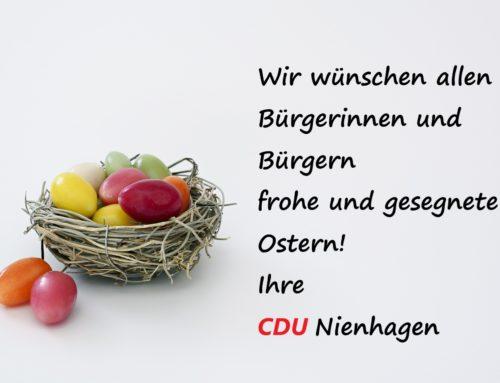 CDU Nienhagen wünscht frohe Ostern