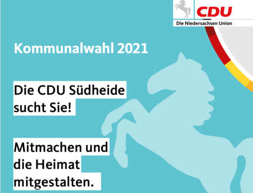 Kommunalwahl: CDU Südheide sucht Sie!