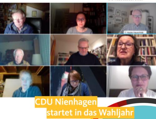 Die CDU Nienhagen startet in das Wahljahr 2021