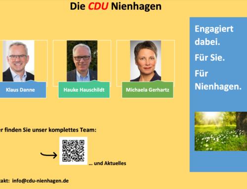 CDU Nienhagen: für Sie! für Nienhagen!