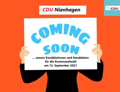 Ihre Kandidatinnen und Kandidaten aus Nienhagen für die Kommunalwahlen 2021